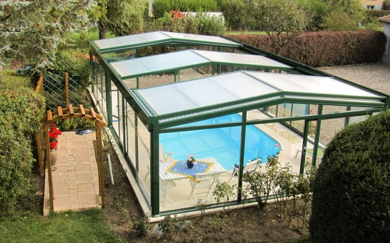 Visiopool pool enclosure