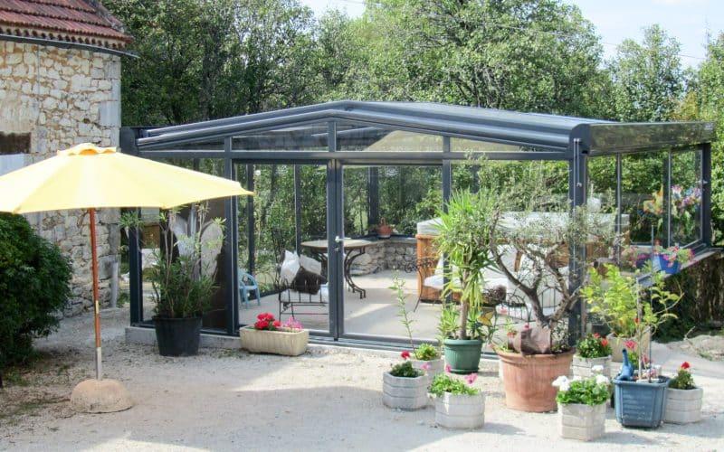 Spa enclosure Visiospa